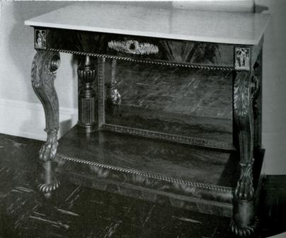 Philadelphia Empire furniture by Antoine Gabriel Quervelle. Philadelphia Empire furniture by Antoine Gabriel Quervelle   The