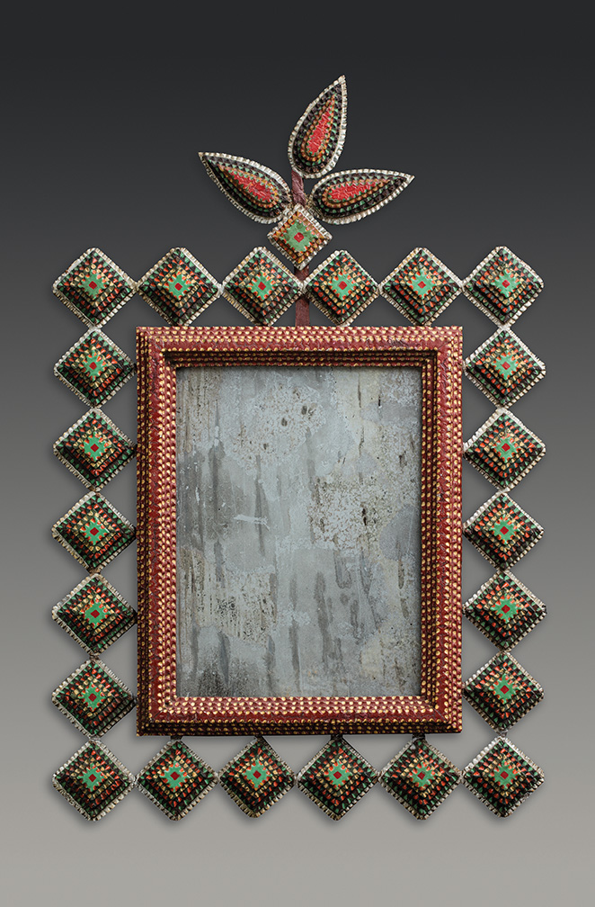 Folk Art Paint With Mirror Effect