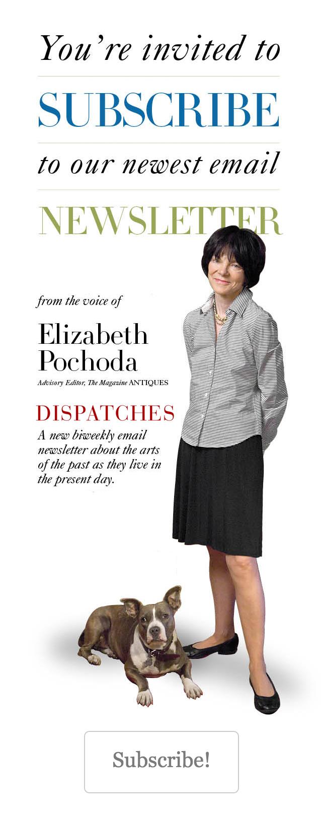 Elizabeth Pochoda Newsletter