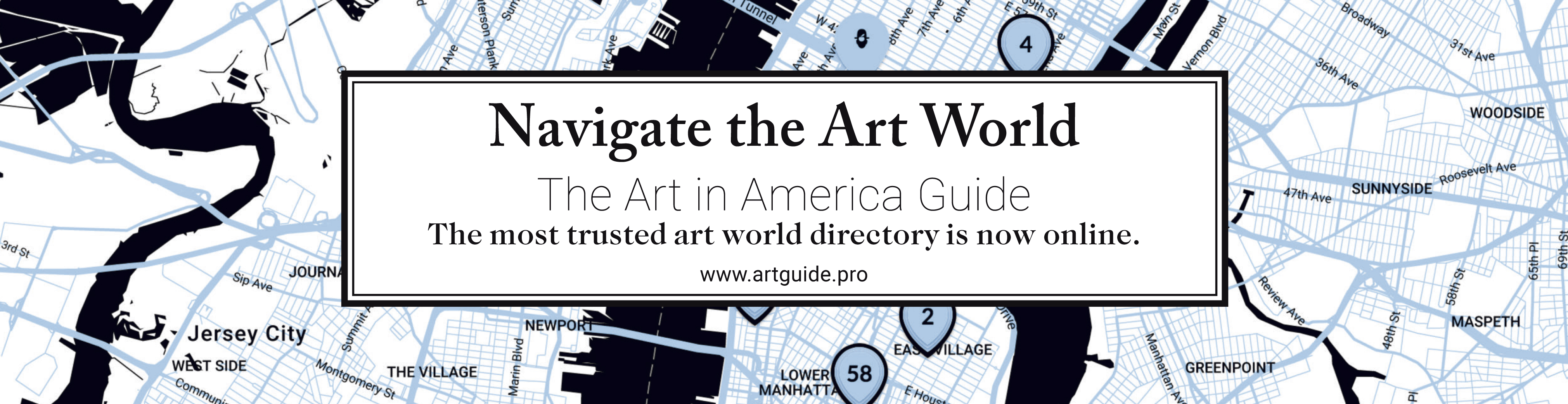 The Art in America Guide